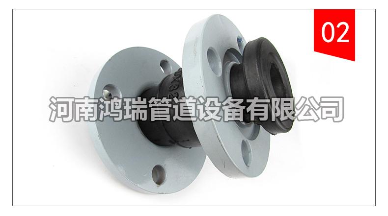 高弹可曲挠橡胶软连接接头 同心异径变径橡胶接头 卡箍软接头