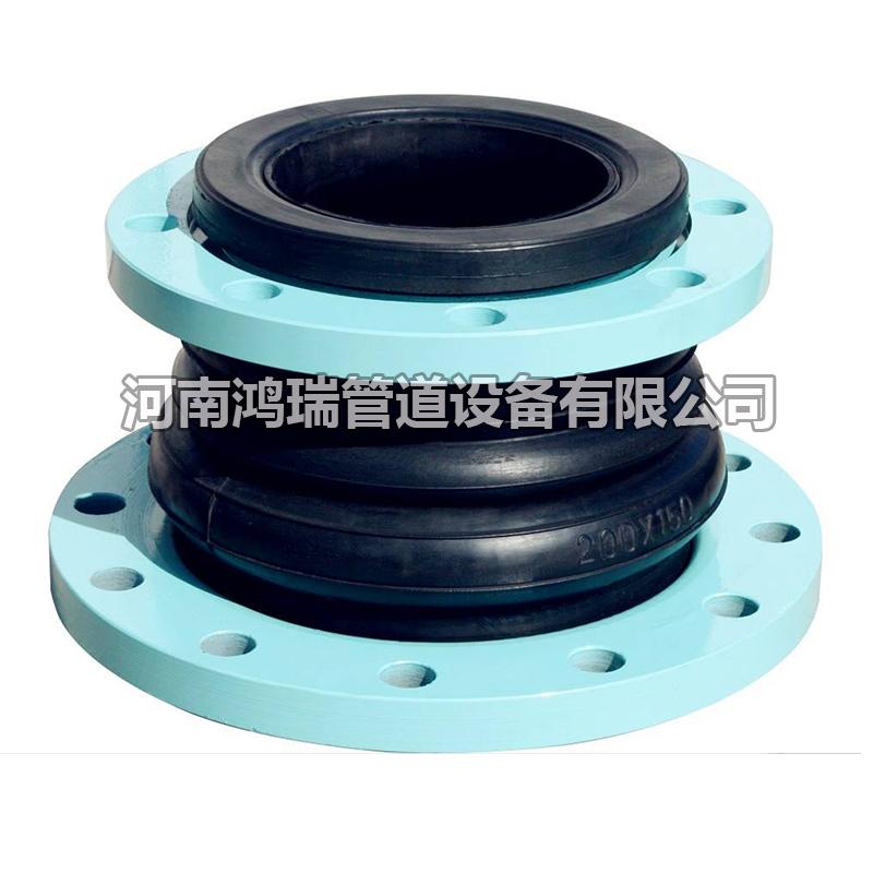 同心变径橡胶软连接异径软接头双球异径可屈挠软接头伸缩节减震器