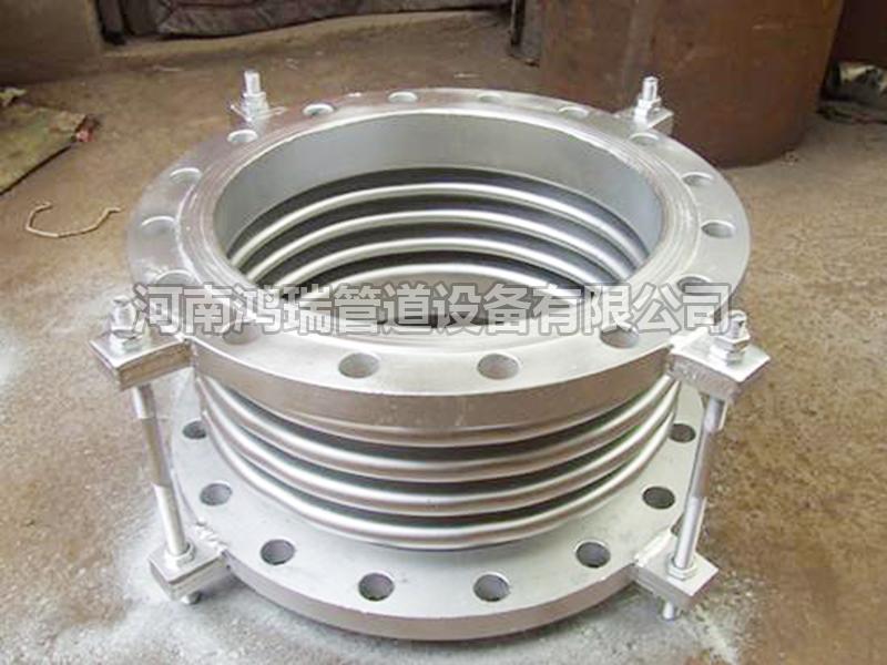 不锈钢法兰式波纹管拉杆补偿器 膨胀节 伸缩节DN65 80 100 125