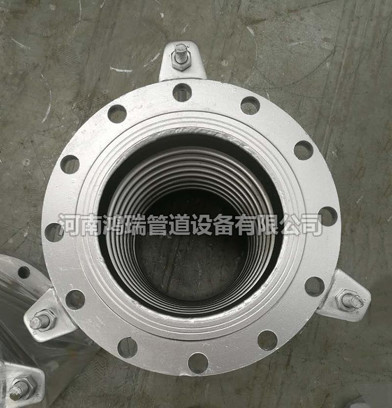 304不锈钢A3波纹补偿器金属膨胀伸缩节通用法兰波纹管真空补偿器
