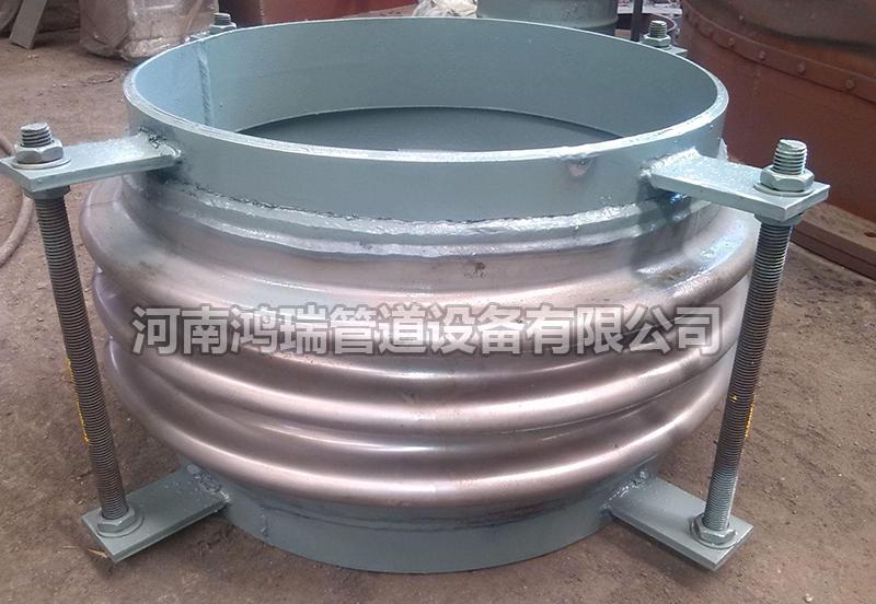 焊接式不锈钢补偿器304真空拉杆管dn50/100/200金属法兰式膨胀节伸缩节