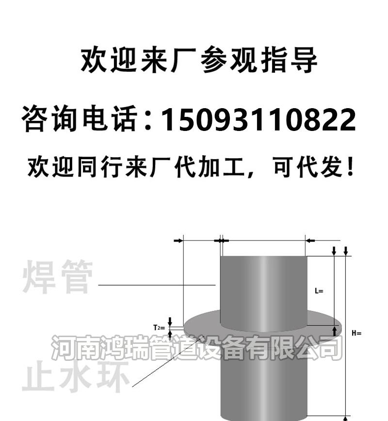 刚性防水套管/02S404柔性AB型/穿墙管/人防密闭/不锈钢/国标/非标